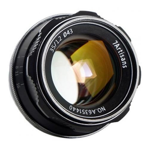 Imagen 1 de 5 de Lente 7 Artisans 35mm F/1.2 Fuji Montura Fx