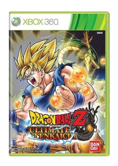 Dragon Ball Z Ultimate Tenkaichi - Xbox 360 - Física - Usado