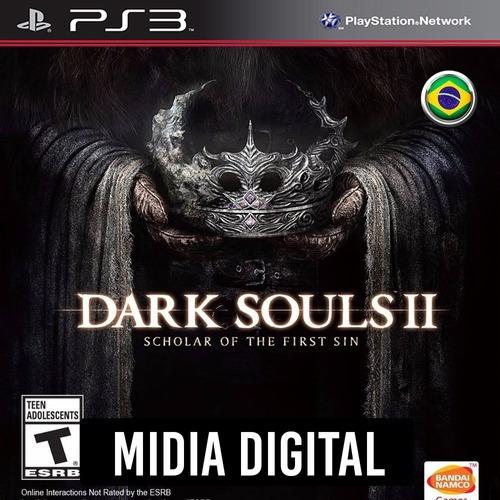 Ps3 Psn* - Dark Souls 2 Scholar Of The First Sin