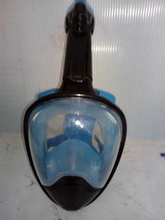 Snorkel Chalecos Visor Y Mascara Paquete Familiar Seminuevo