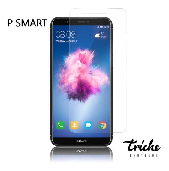 Cristal Templado Mica Contra Golpes Huawei P Smart 2018