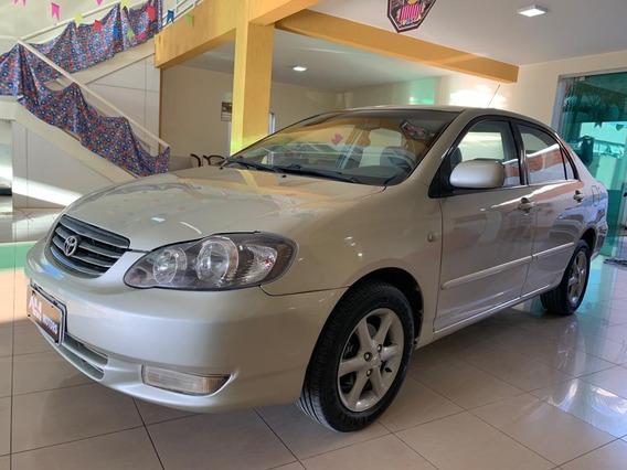 Toyota Corolla 2003 1.8 16v Xei 4p Todo Revisado Impecável
