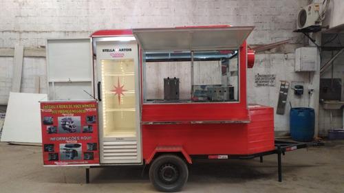 Trailer Lanche Food Truck Direto Da Fabrica (sob Encomenda)