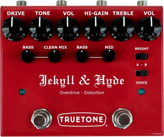 Pedal Truetone V3jh Jekyll & Hyde Overdrive - Distortion