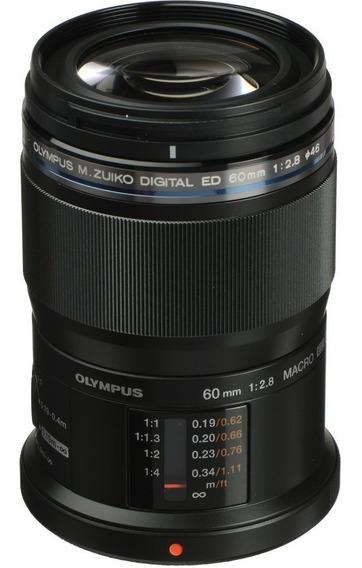 Lente Olympus M.zuiko Digital Ed 60mm F/2.8 Macro