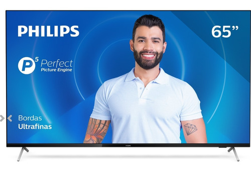 Smart Tv Philips 65 4k 65pug7625/78 Wifi, 3 Hdmi, 2 Usb