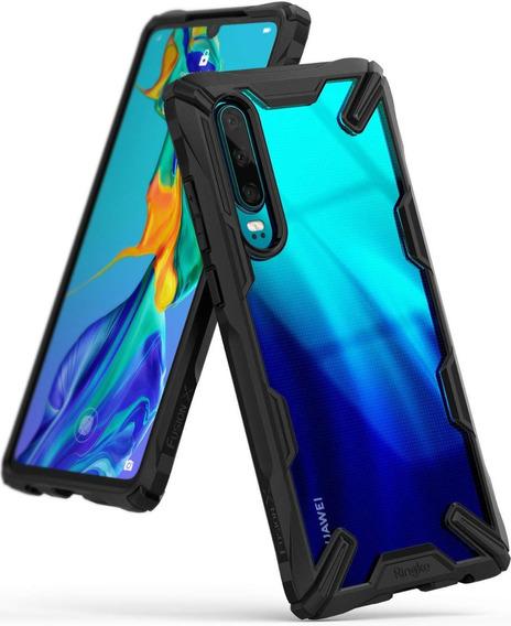 Estuche Forro Original Ringke Fusion X Huawei P30