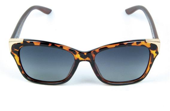 Óculos De Sol Polarizado Zabo Barcelona Tartaruga Lent Preta