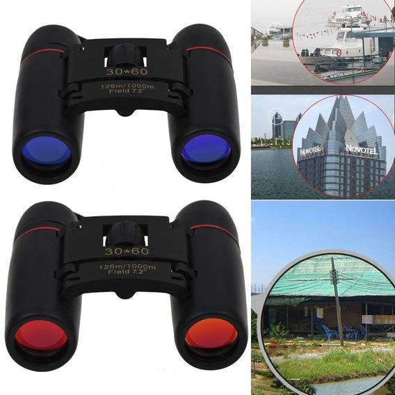 Binóculo 30x60 Zoom Telescópio Caça E Camping Original Visão