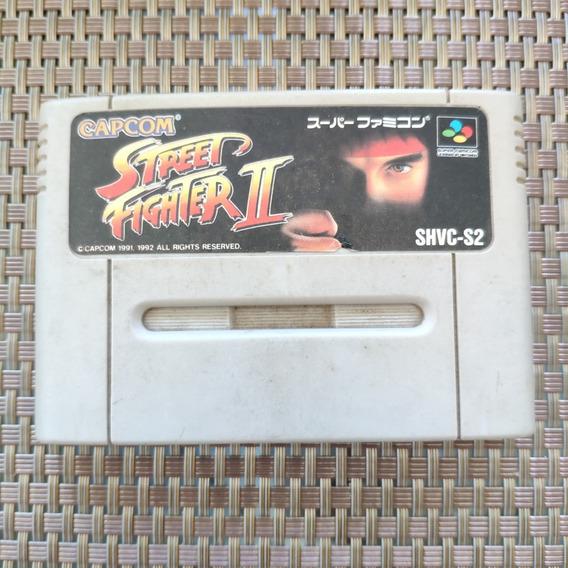 Street Fighter Ii 2 - Snes Famicom - Paralelo
