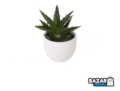 Maceta Planta Suculenta Artificial Decoración Numero 5