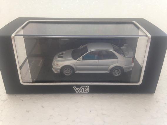 Mitsubishi Lancer Evolution V (5) Raro Miniatura 1/43 Wits