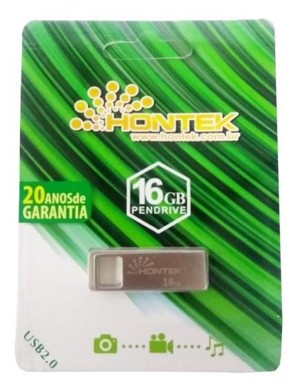 Pen Drive 16 Gb Original Hontek Com 20 De Garantia