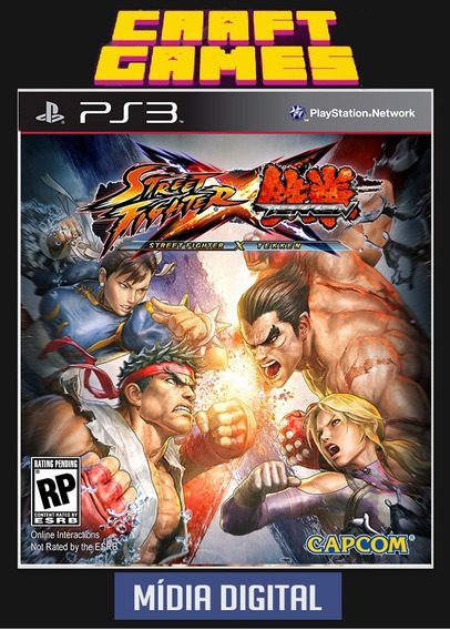 Tekken X Street Fighter Ps3 Psn Envio Imediato