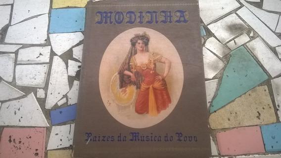 Livro Modinha - Raízes Da Música Do Povo