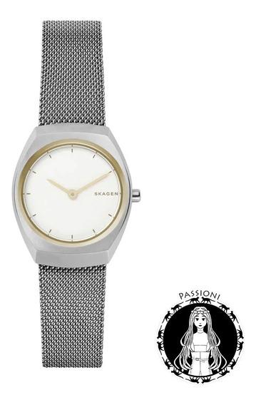 Relógio Skagen Prata Asta - Skw2654/1bn C/ Nf E Garantia U