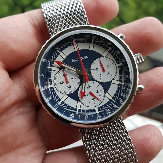 Relógio Bulova 96k101 Star And Stripes Edição Especial