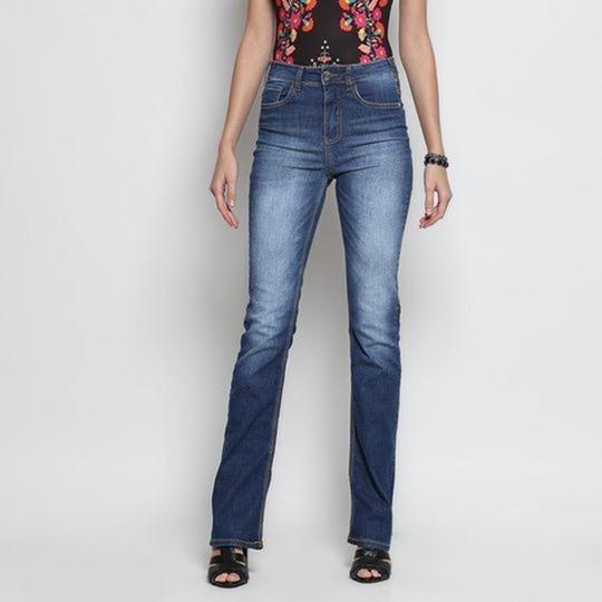 Jeans Boot Cut Estonado Sommer - 38 Feminino Oferta