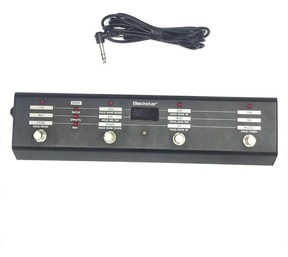 Foot Para Amplificador Blackstar Fs-10 Com 4 Botões + Cabo