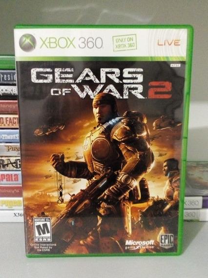 Gears Of War 2 + Brinde P/ Xbox 360 Original Frete Cr $14