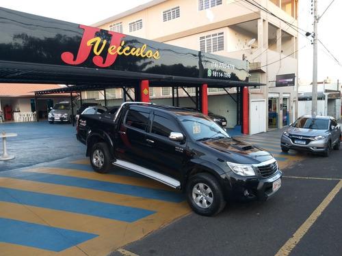 Imagem 1 de 11 de Toyota Hilux 2013 3.0 Srv Cab. Dupla 4x4 Aut. 4p