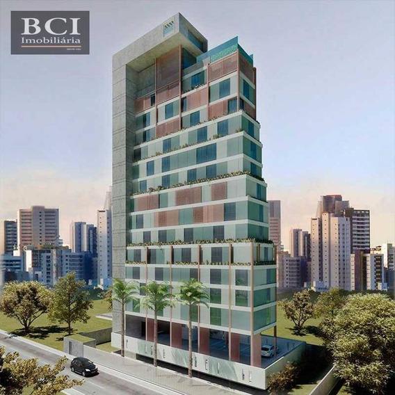 Loft Com 1 Dormitório À Venda, 30 M² Por R$ 250.000 - Boa Viagem - Recife/pe - Lf0001