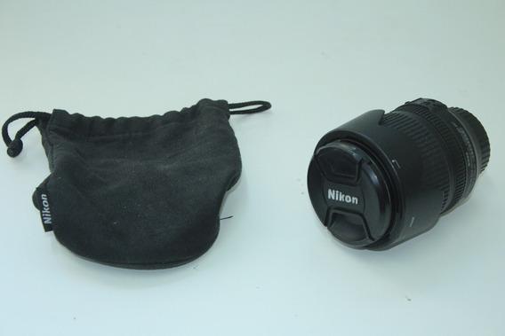 Lente Nikon 18-105mm F/3.5-5.6 Dx Usada Com Parasol E Bolsa