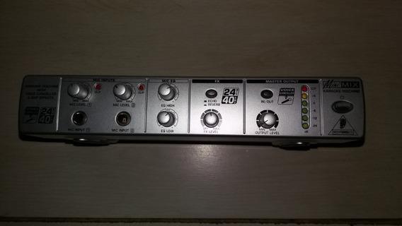 Behringer Mini Mix 800 (eliminador De Voz Karaoke)