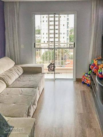 Apartamento Com 2 Dormitórios À Venda, 55 M² Por R$ 330.000 - Bonfim - Campinas/sp - Ap7291