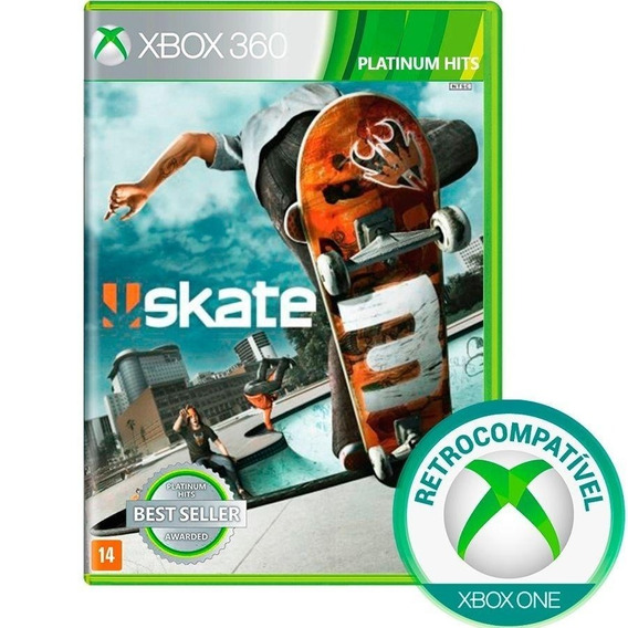 Skate 3 Xbox 360 One Retrocomp Original Lacrado Mídia Física