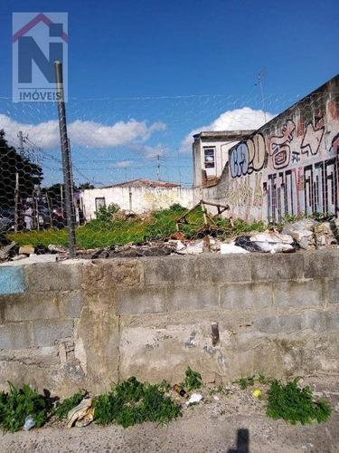 Imagem 1 de 6 de Terreno À Venda, 270 M² Por R$ 450.000,00 - Vila Figueira - Suzano/sp - Te0040