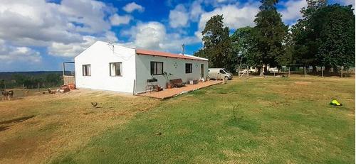 Chacra De 1ha Con Casa De 2 Dormitorios - Rincón Del Colorado