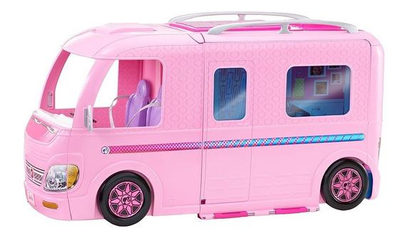 Veículo E Playset - Trailer Dos Sonhos - Barbie - Acampament
