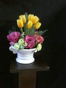 Arreglos Flores Artificiales Tulipanes En Distrito Federal