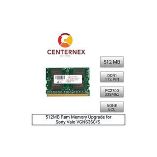 512mb De Memoria Ram Para Sony Vaio Vgns36c / S (pc2700 None