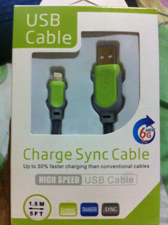 Usb Charge Sync Cable iPhone 5s