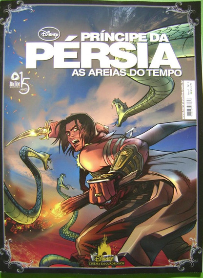 Revista: Principe Da Persia As Areias Do Tempo Vol 3