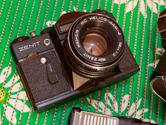 Câmera Zenit Ii + Acessórios (v2)