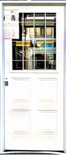 Puerta Chapa Simple Reforzada 080x200 Postigo Casa San Jose