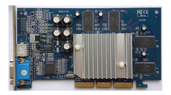 Placa De Video Agp 64mb Geforce Nvidia Mx440se