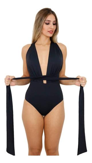 Body Feminino Transpassado Alça Larga B16