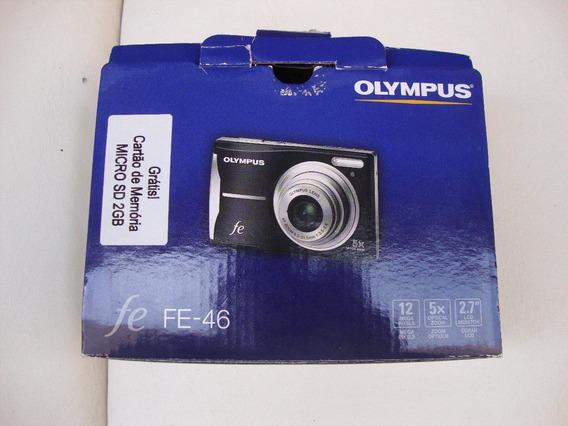 Câmera Fotográfica Olympus Fe-46 Funcionando 100% (leia Tudo