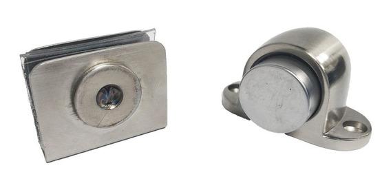 Batedor Magnético Vidro Batente Porta Pivotante Imã Amortece
