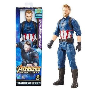 Avengers Captain America Titan Hero Series Hasbro