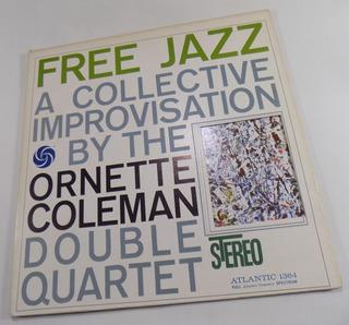 Ornette Coleman Free Jazz Vinilo Lp Usa Gatefold Troquelado
