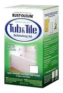 Kit Tub & Tile Rust Oleum   Pintura Para Bañeras Y Azulejos