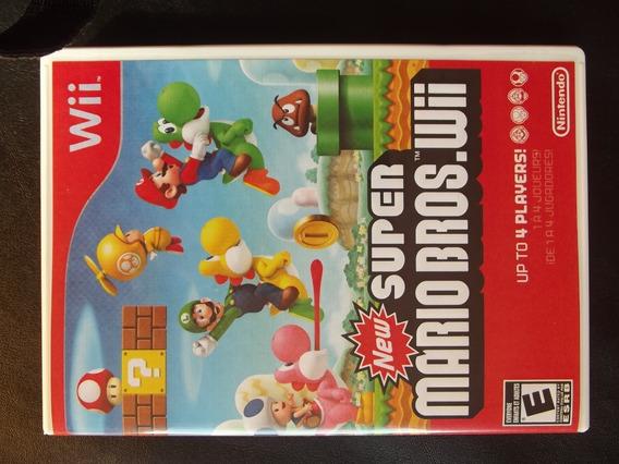 New Super Mario Bros Wii ¬ Original Para Wii Ou Wii U