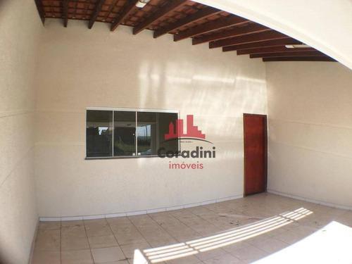 Imagem 1 de 17 de Casa Com 3 Dormitórios À Venda, 144 M² Por R$ 310 - Parque São Jerônimo - Americana/sp - Ca2368