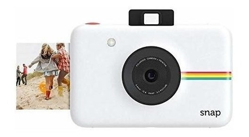 Camara Digital Instantanea Polaroid Snap Blanca Tec Impresio