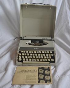 Máquina De Escrever Royal 200